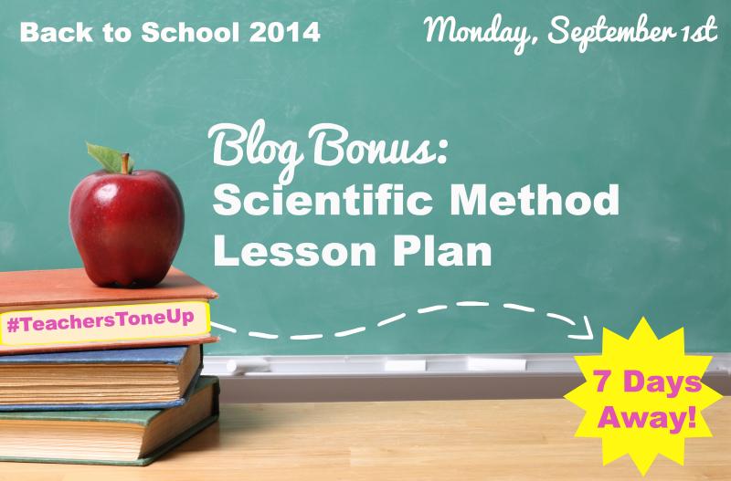 lesson plan idea using the scientific method