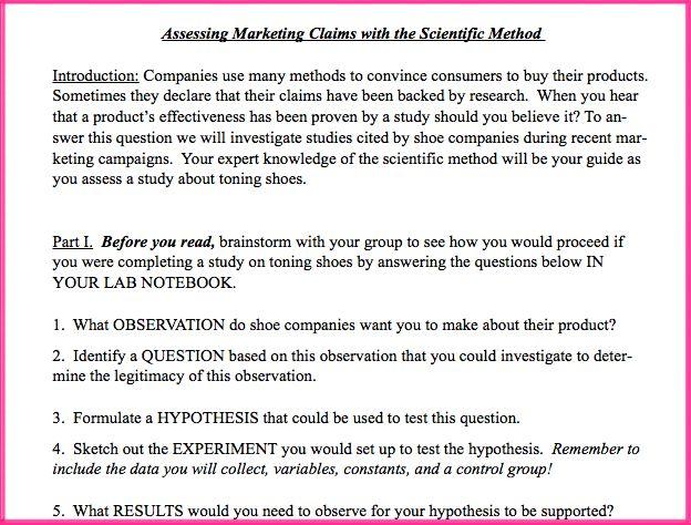Scientific Method Worksheet Fit Armadillo