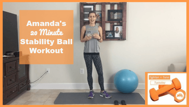 swiss ball workout routine for women