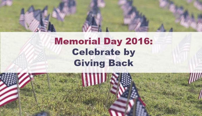 memorial day 2016 donate military celebrate