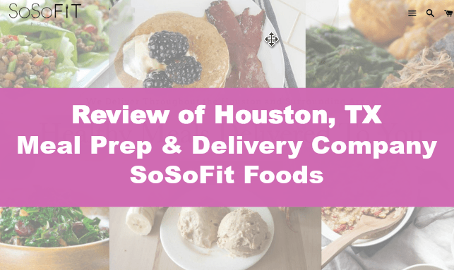 Houston Meal Prep Healthy Food Delivery