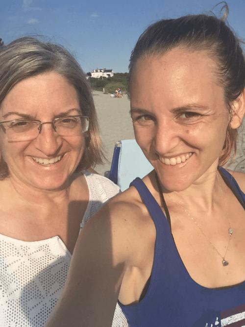 Gooseberry Beach Sweaty Selife