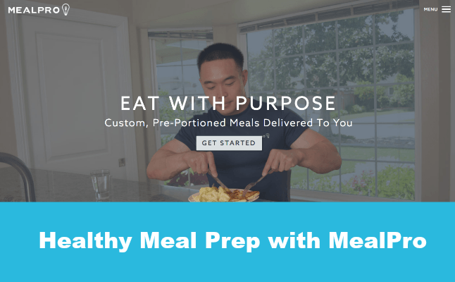 Healthy Meal Prep with MealPro Dinner Tonight