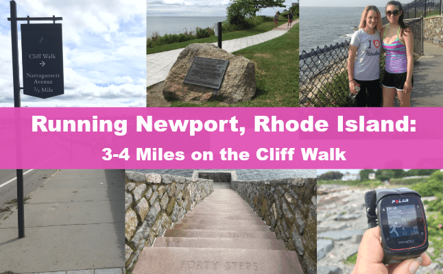 Newport cliff walk running newport rhode island 5k fun run