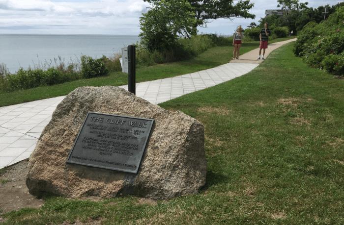 Newport RI cliff walk rhode island tourist attraction