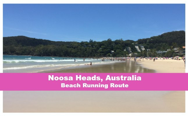 noosa national park running route beach run