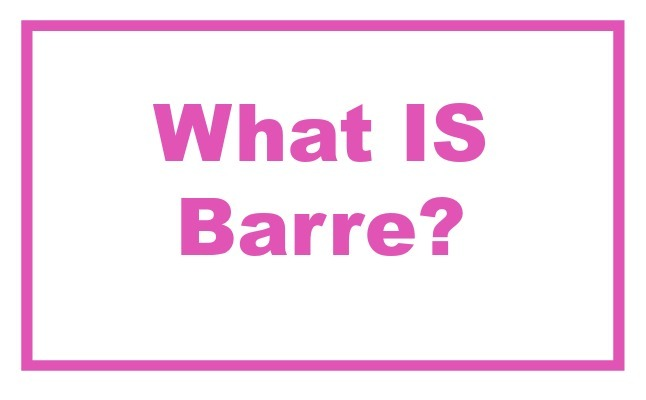 what is barre fitness