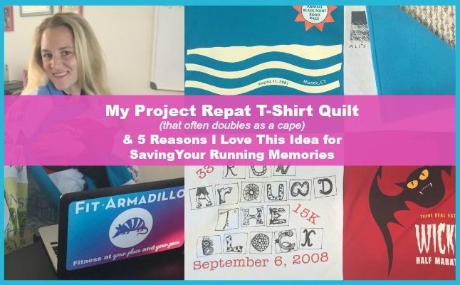 project repat quilt running shirt quilt