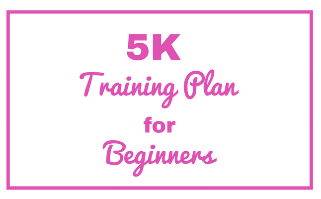 5K Training Plan for Beginning Runners Couch to 5K
