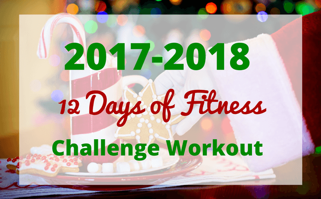 12 days of fitness challenge home workout routine