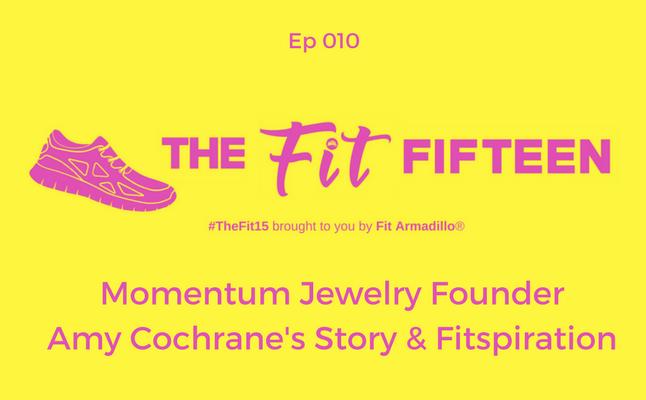 Momentum Jewelry Founder Amy Cochrane's Story & Fitspiration