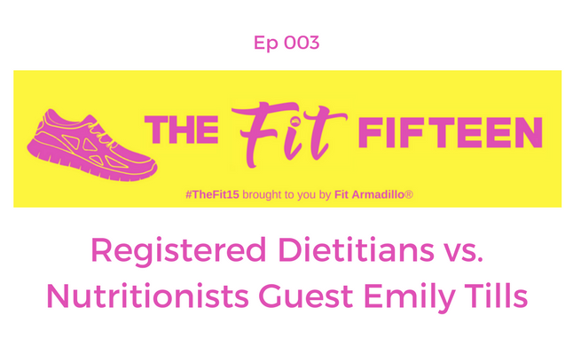 Registered Dietitian vs. Nutritionists