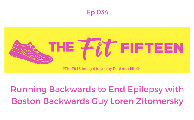 Running Backwards to End Epilepsy Boston Backwards Guy Loren Zitomersky