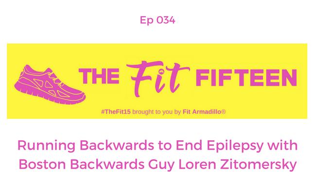Running Backwards to End Epilepsy Boston Backwards Guy Loren Zitomersky