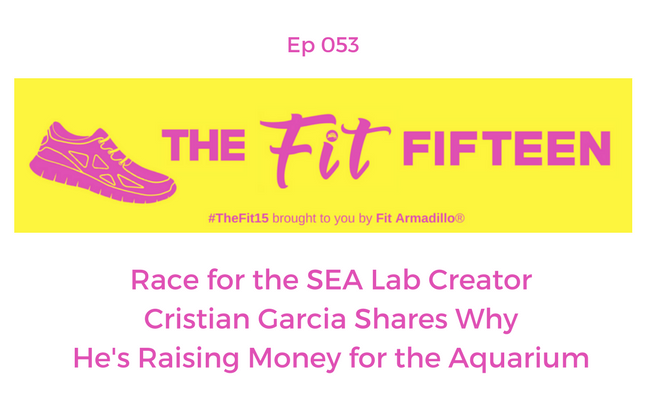 Race for the SEA Lab Aquarium Creator Cristian Garcia Shares Why He's Raising Money for the Aquarium