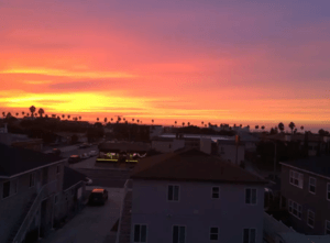 sunset redondo beach