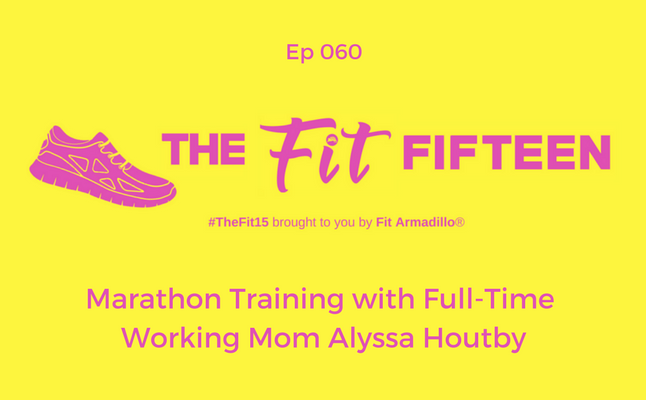 Marathon Training with Full-Time Working Mom Alyssa Houtby
