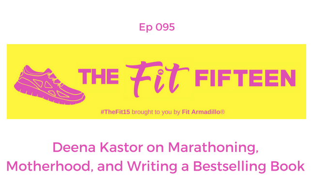 Deena Kastor on Marathoning, Motherhood, and Writing a Bestselling Book