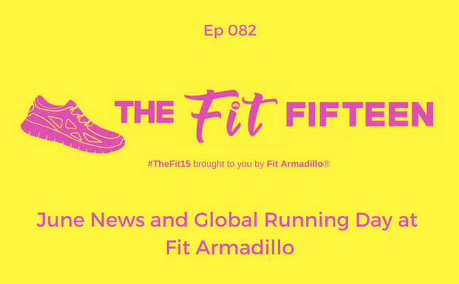 June fitness class calendar june News and Global Running Day at Fit Armadillo