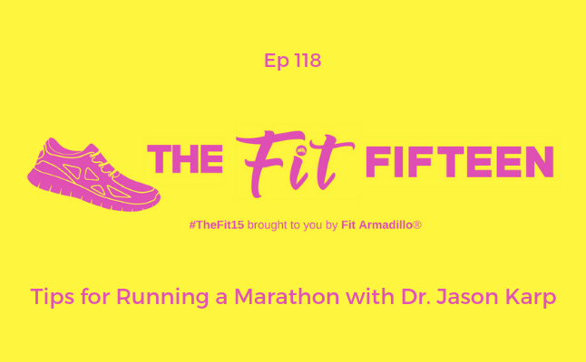 Tips for Running a Marathon with Dr. Jason Karp