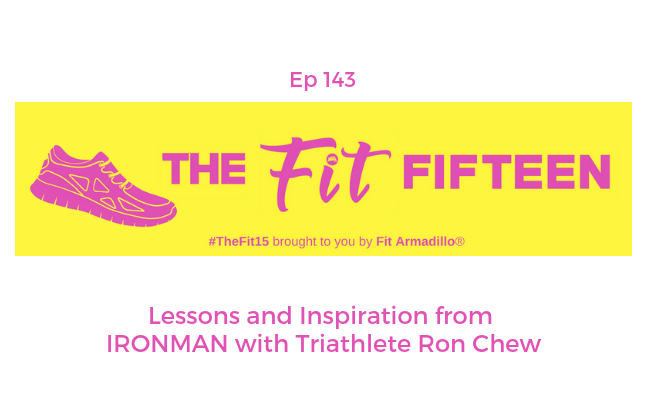 Lessons and Inspiration from IRONMAN with Triathlete Ron Chew