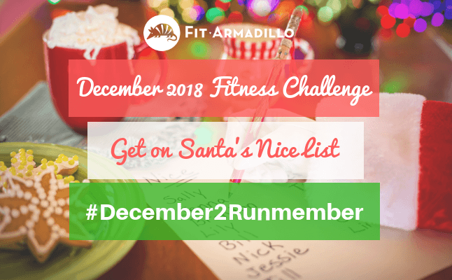 December 2018 fitness challenges