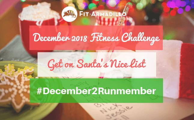 December 2018 fitness challenges