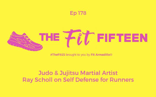 Judo & Jujitsu Martial Artist Ray Scholl on Self Defense for Runners