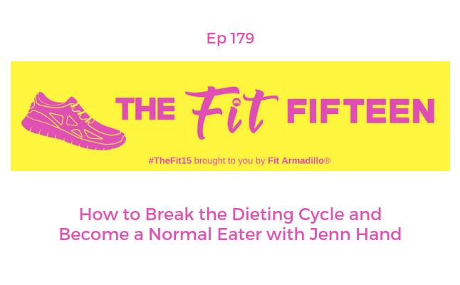 how to break dieting cycle