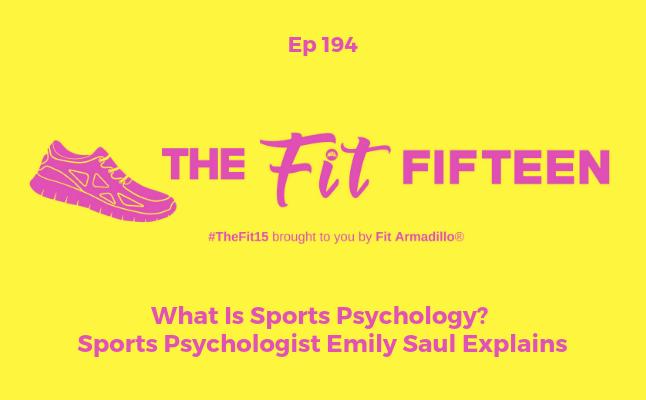 podcast episode 194 on sports psychology